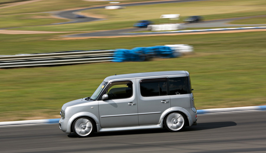 nissan cube at wakefield park. Black Bedroom Furniture Sets. Home Design Ideas