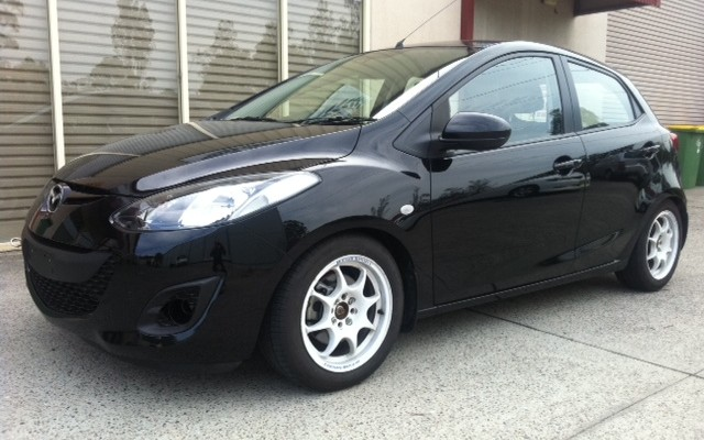 Mazda 2 Suspension And Wheels