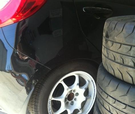 Sticky Mazda 2!